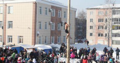 Берёзовцы проводили зиму
