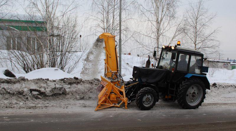 В Берёзовском для уборки снега приобретено новое оборудование