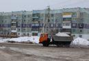 В феврале из города вывезено более 10 000 кубометров снега