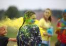 Фестиваль красок в Берёзовском