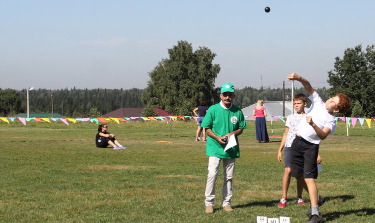 День физкультурника в Берёзовском