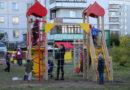 В Берёзовском открыты четыре новые детские площадки