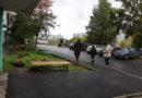 Отремонтирован двор по проспекту Шахтеров