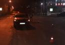 В районе пр. Шахтеров пострадал пешеход