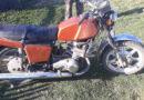 Выпивший водитель перевернулся на мотоцикле