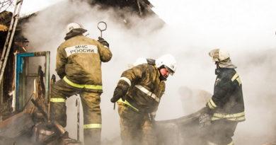 При разборе завалов после пожара обнаружен труп