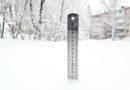 Обильный долговременный снегопад в Берёзовском