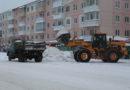 Больше всего снега выпало в Берёзовском