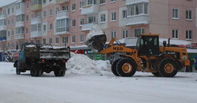 Коммунальные службы  ведут снегоборьбу