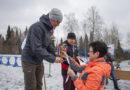 Александр Бессмертных закрыл сезон лыжных гонок в Берёзовском
