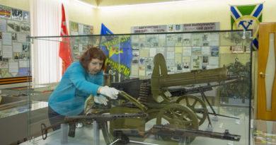 Оружие возвратили в городской музей