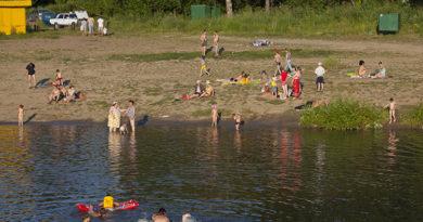 Пляжи и места отдыха у воды открываются в Кузбассе