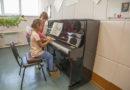 В школе искусств новый инструмент