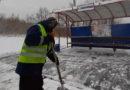 Во всех районах работают снегоуборочные бригады