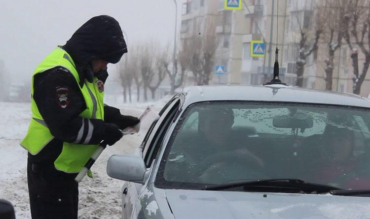 Массовая проверка водителей в Берёзовском