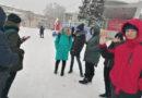 Под главной елкой в Берёзовском прошла первая игра