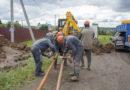 В Берёзовском на ул. Пушкина прокладывают водовод