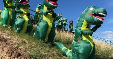Первый в России ночной марафон «поисках динозавровВ» пройдет в Кузбассе