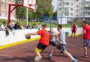 В Берёзовском прошли соревнования по стритболу