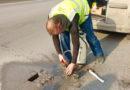 Завершился ремонт городской дороги