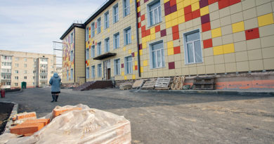 Завершается ремонт второго корпуса школы №1